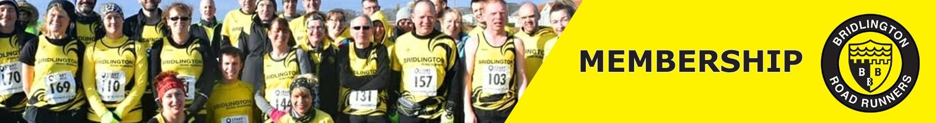 Bridlington Road Runners Season 2021-22 Membership